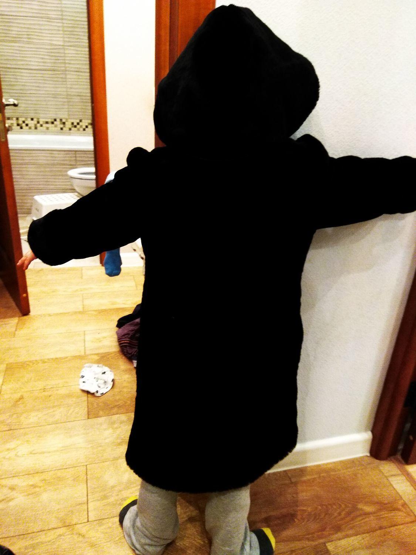Photo №2 к отзыву покупателя Viktoriya о товаре Мутоновая шуба для мальчика
