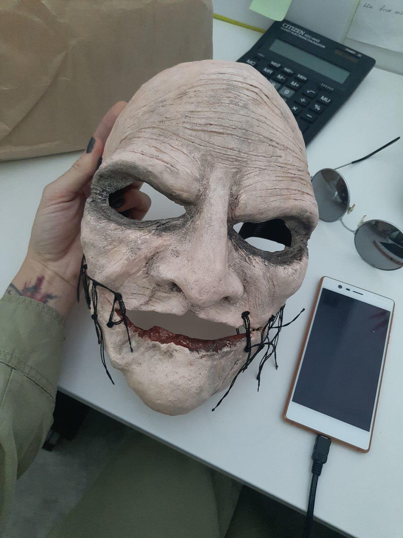 Photo №1 к отзыву покупателя Svet Svet о товаре Маска Кори Тейлора маска группы Слипкнот Slipknot Corey Taylor mask