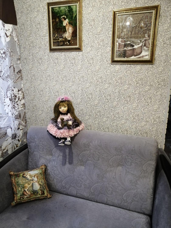 Photo №1 к отзыву покупателя Marina о товаре Кукла коллекционная Николь
