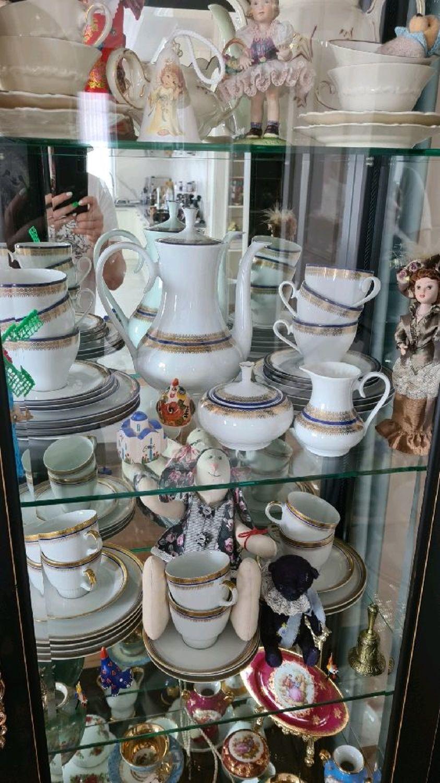Photo №1 к отзыву покупателя Elena Cheusheva о товаре Винтаж: Сервизы винтажные: Чайный сервиз Vohenstrauss, Johann Seltmann