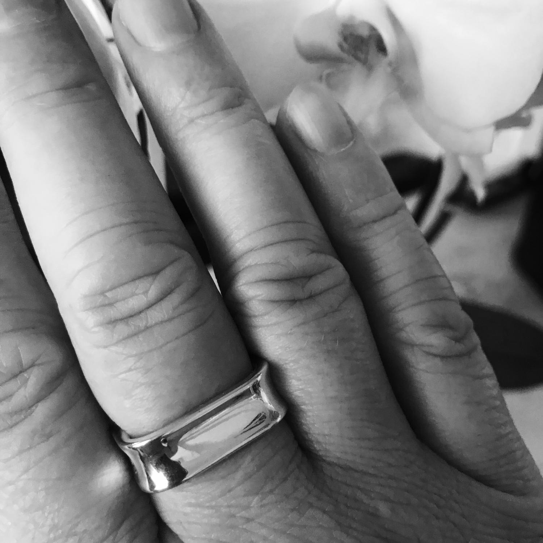 Photo №1 к отзыву покупателя Stanislav о товаре Серебряное кольцо Tiffany (К29) Тиффани