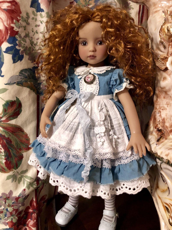 Фото №1 к отзыву покупателя Инна о товаре Платье для кукол Литтл Дарлинг (Эффнер) Little Darling