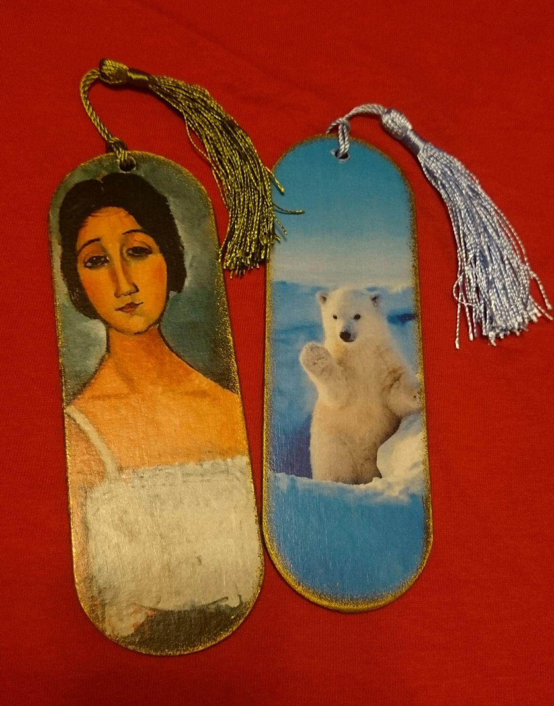 Photo №1 к отзыву покупателя Yana о товаре Закладки для книг деревянные