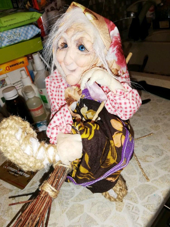 Фото №2 к отзыву покупателя Олеся о товаре Интерьерная кукла: Баба Яга и еще 1 товар