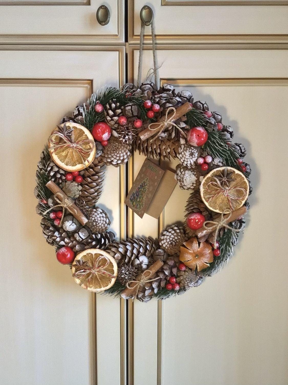 Фото №1 к отзыву покупателя Анна о товаре Венок рождественский