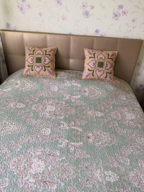 Фото №2 к отзыву покупателя Вера о товаре детское лоскутное одеяло