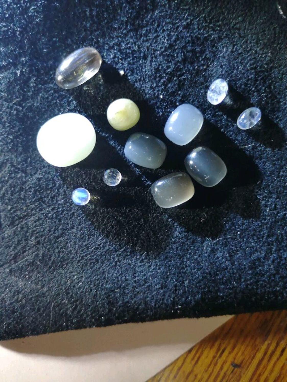 Фото №2 к отзыву покупателя Милашка Наташка о товаре Лунный камень НАТУРАЛЬНЫЙ, кабошон 10Х7 мм, MT41 и еще 3 товара
