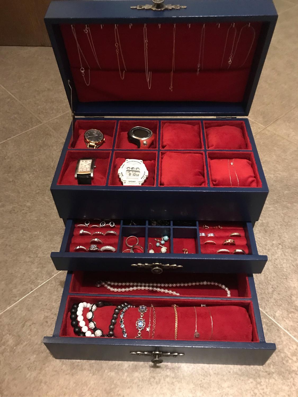 Фото №3 к отзыву покупателя Анна о товаре Бирюзовый комод с ящиками