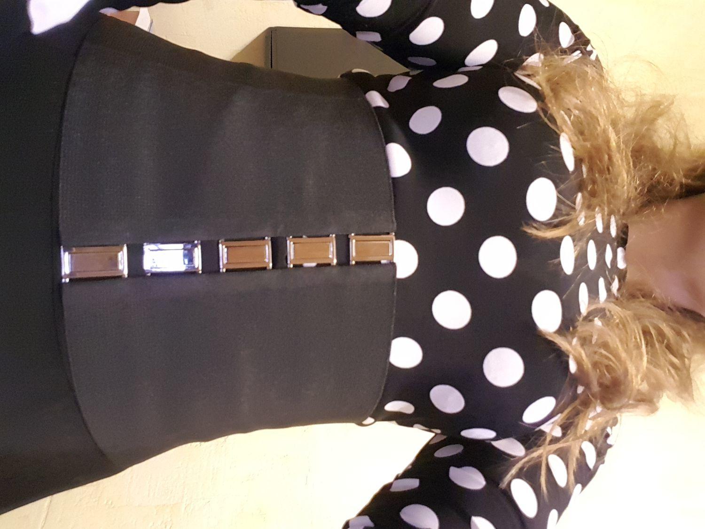 Photo №2 к отзыву покупателя tonyck о товаре Корсет-резинка Черный, Тканый, высота 160мм