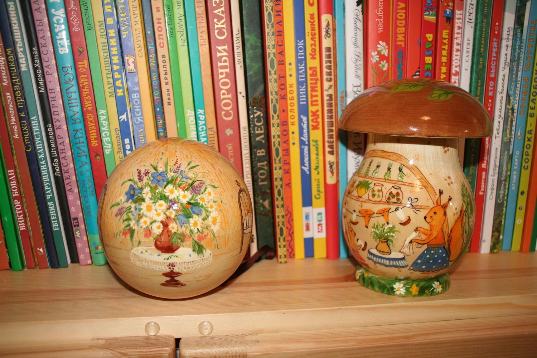 Фото №5 к отзыву покупателя Vesna о товаре Музыкальный шар-неваляшка из дерева с автор. росписью