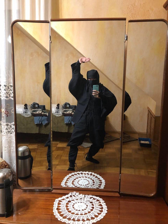 Фото №2 к отзыву покупателя Туктаров Салих о товаре Кога-сёдзоку - костюм ниндзя из фильмов, игр, комиксов