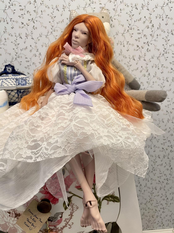 Фото №3 к отзыву покупателя Ирина о товаре БЖД кукла бланк темный скин тон полиуретан