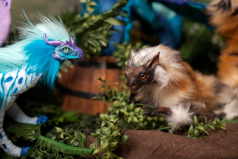 Фото №1 к отзыву покупателя Татьяна Мусская о товаре Коллекционная игрушка Дракон КотоСов