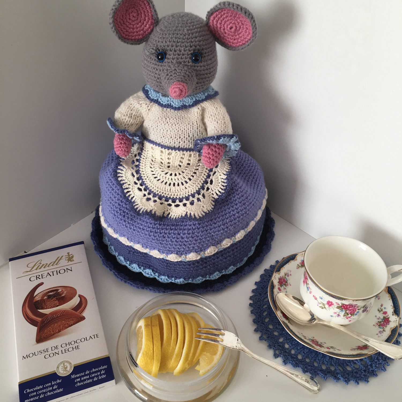 "Фото №1 к отзыву покупателя Фатима о товаре ""Мышка- хозяюшка"" грелка на чайник. Мастер-класс."