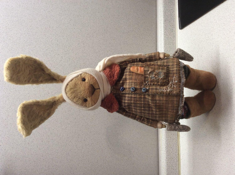 Фото №1 к отзыву покупателя Ольга о товаре NEW ЗайУшка -  заяц тедди медведи