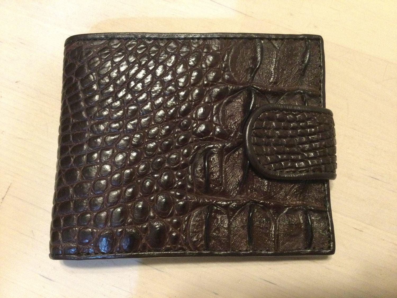 Photo №1 к отзыву покупателя Natalli о товаре Бумажник из кожи крокодила IMA0227K33