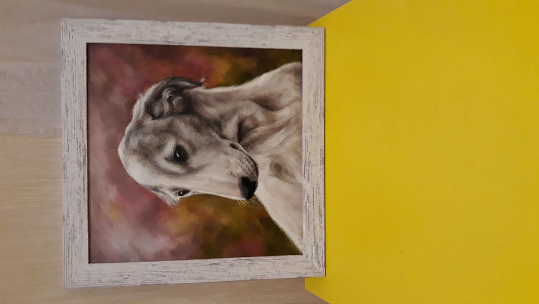 Photo №1 к отзыву покупателя Sasha о товаре Картина маслом Портрет Лады