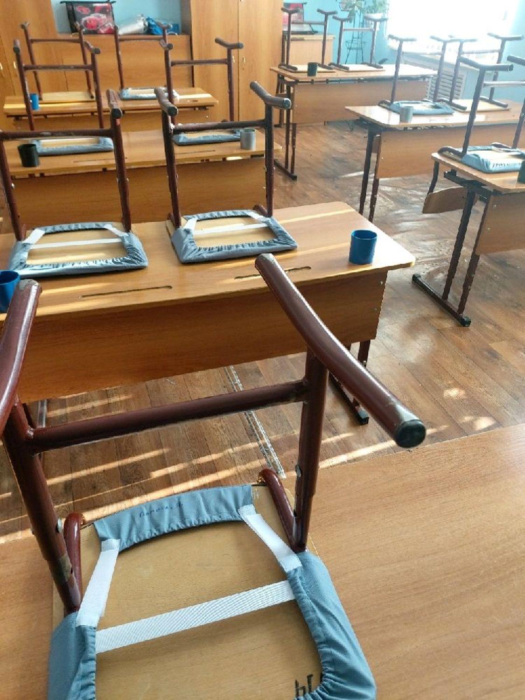 Фото №2 к отзыву покупателя Нина Морокина о товаре Чехлы: для школьных стульев
