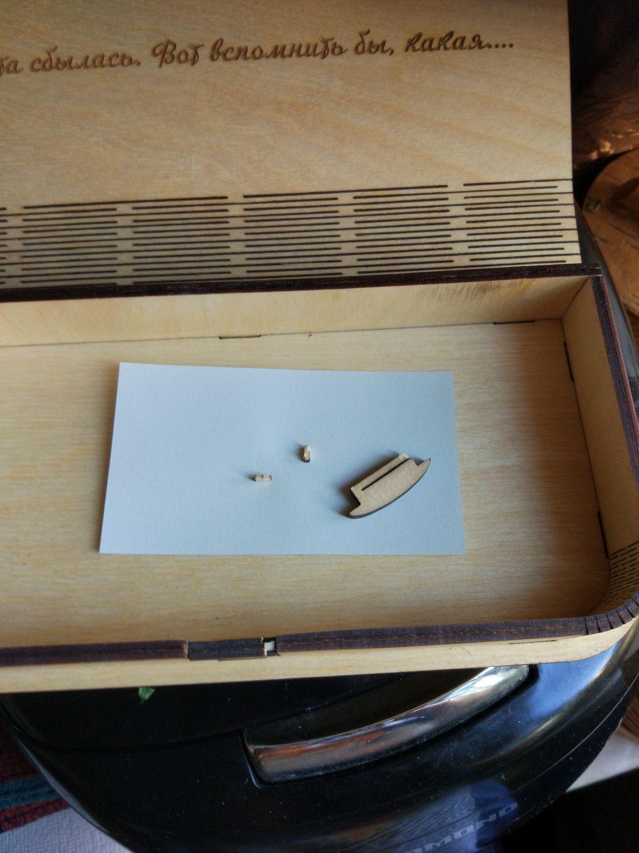 Photo №1 к отзыву покупателя Nataliya о товаре Купюрница, коробочка для денег