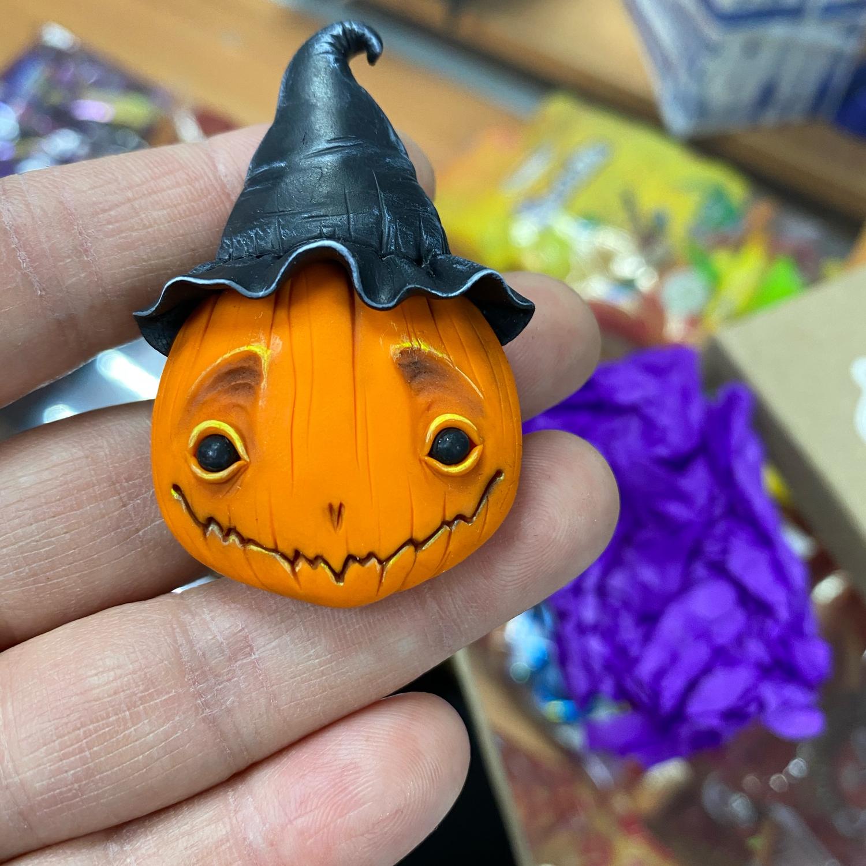 Photo №2 к отзыву покупателя Vera Majdanovich о товаре Тыкво-брошки на Halloween