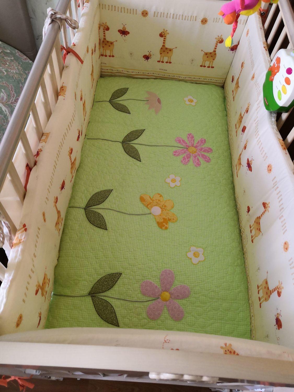 Фото №1 к отзыву покупателя Вера о товаре детское лоскутное одеяло