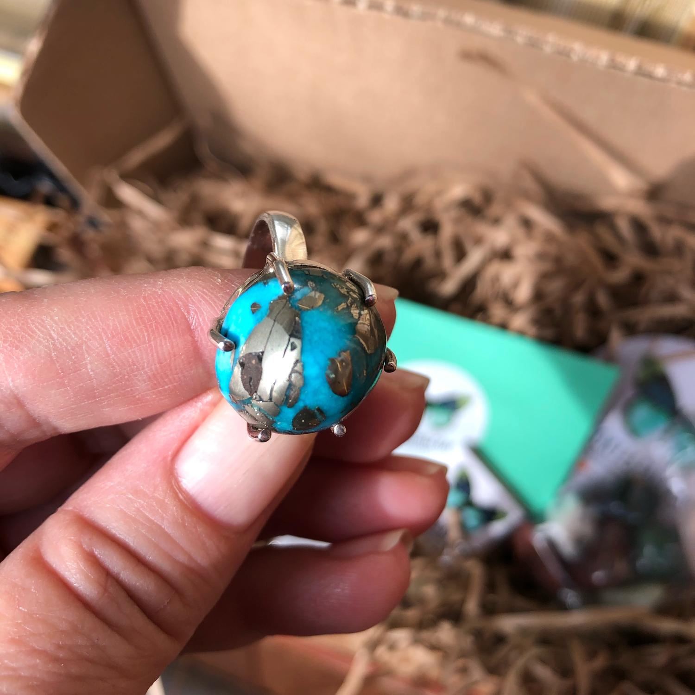Photo №4 к отзыву покупателя Ella о товаре Кольцо Иранская бирюза