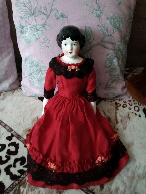 Фото №2 к отзыву покупателя Наталья М о товаре Винтаж: ПРОДАНА. Большая старинная реплика антикварной куклы China doll