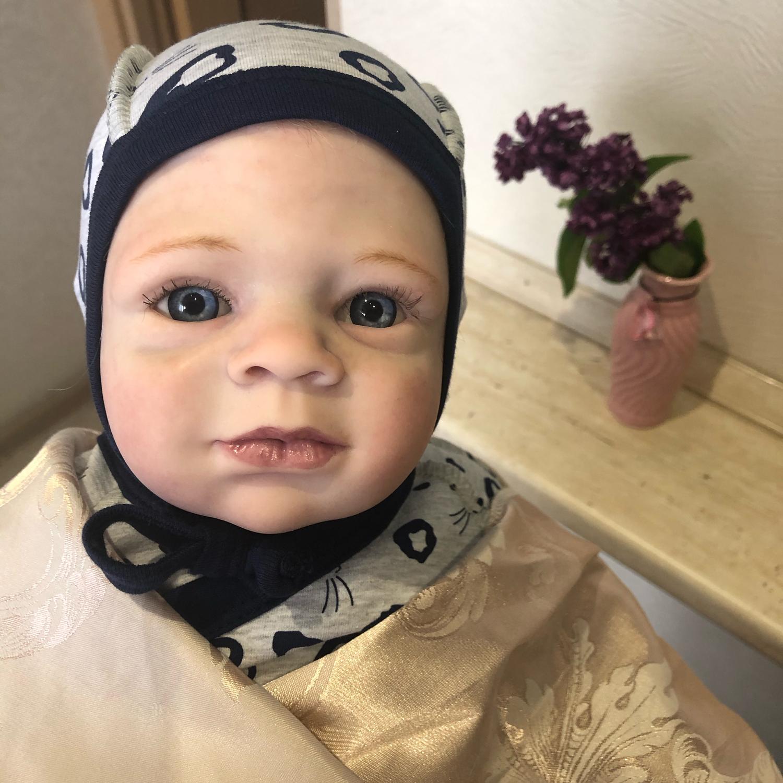Фото №1 к отзыву покупателя Юлия о товаре Кукла реборн мальчик Ленечка