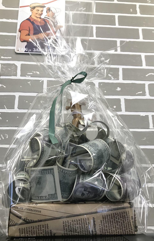 Photo №1 к отзыву покупателя Yuliya  Ivanova о товаре Подарок мужчине Денежный кран