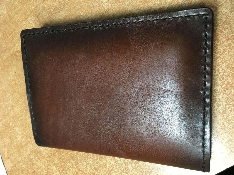 Photo №1 к отзыву покупателя Aleksei Alekseevich о товаре Кожаный бумажник, обложка для документов