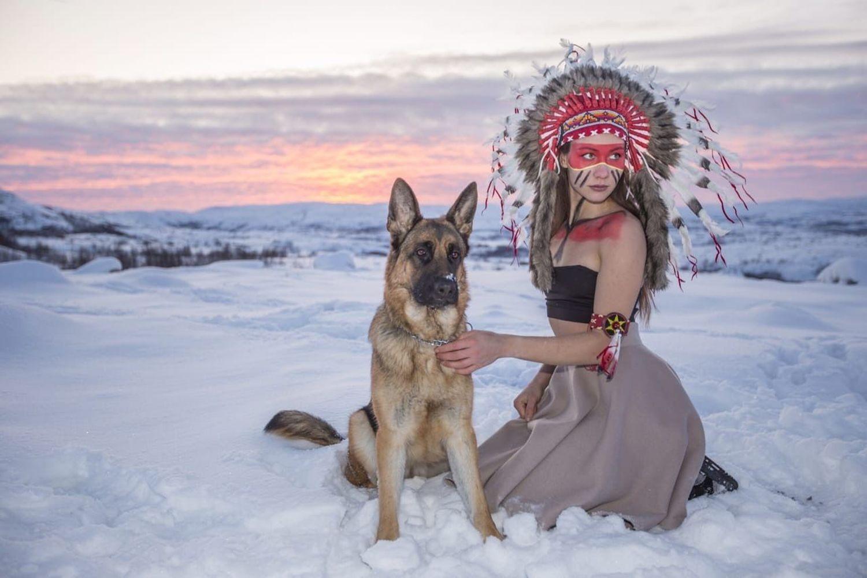 стихи индейца к новому году год нам тоже