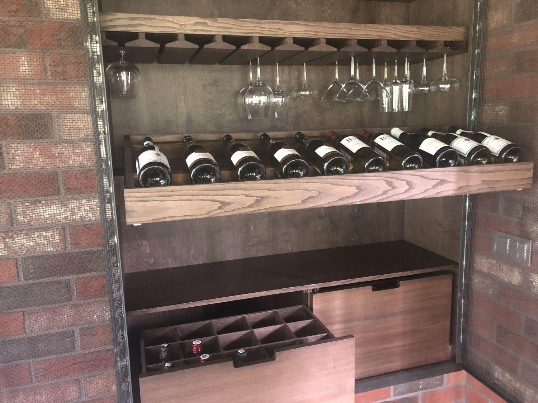 Photo №2 к отзыву покупателя Marina о товаре Шкаф для вина SHAMAN.
