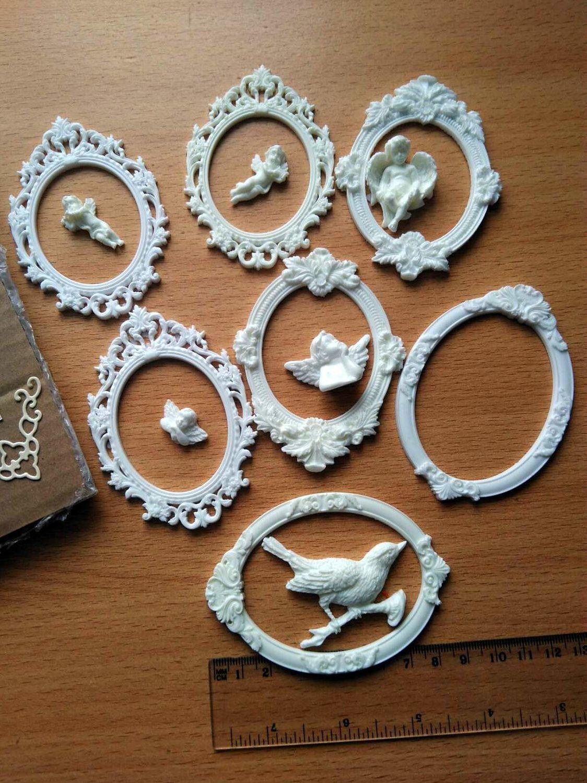 Фото №1 к отзыву покупателя Лариса Полетаева о товаре Фигурка из пластика Рамка 4 и еще 4 товара