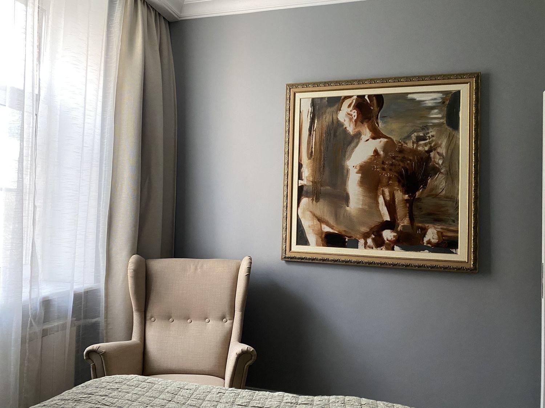 """Фото №1 к отзыву покупателя Анна Анцинова о товаре Картины: """"Утро"""". Картина маслом на холсте для интерьера."""