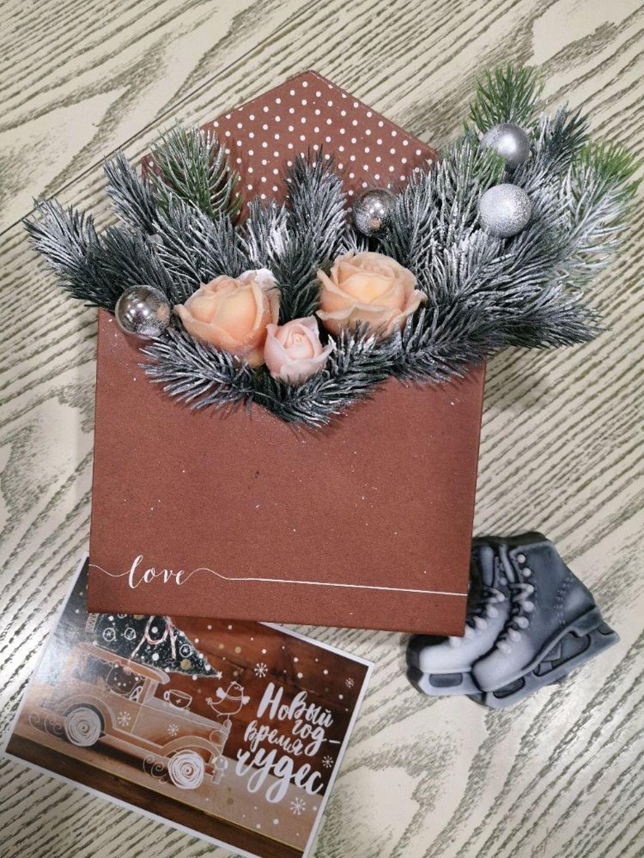 Photo №1 к отзыву покупателя * Elena * о товаре Цветы из мыла.