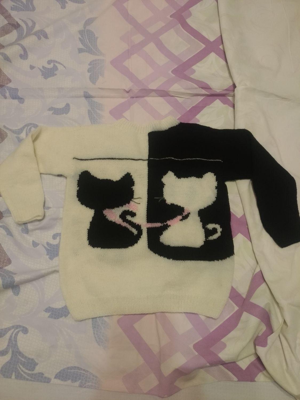 Photo №2 к отзыву покупателя Nadya о товаре Связанный вручную, детский свитер с рисунком
