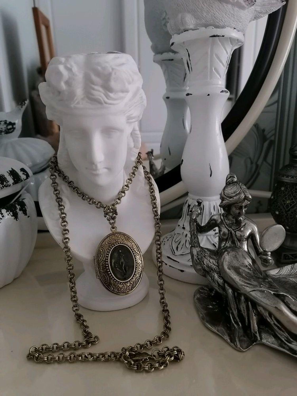Фото №1 к отзыву покупателя Жанна о товаре Винтаж: Медальон 1928 Jewelry - Прекрасная Каллисто