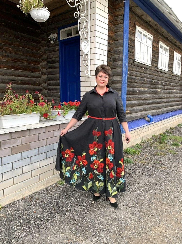 Photo №1 к отзыву покупателя Tatyana о товаре Платье на праздник Шиповник