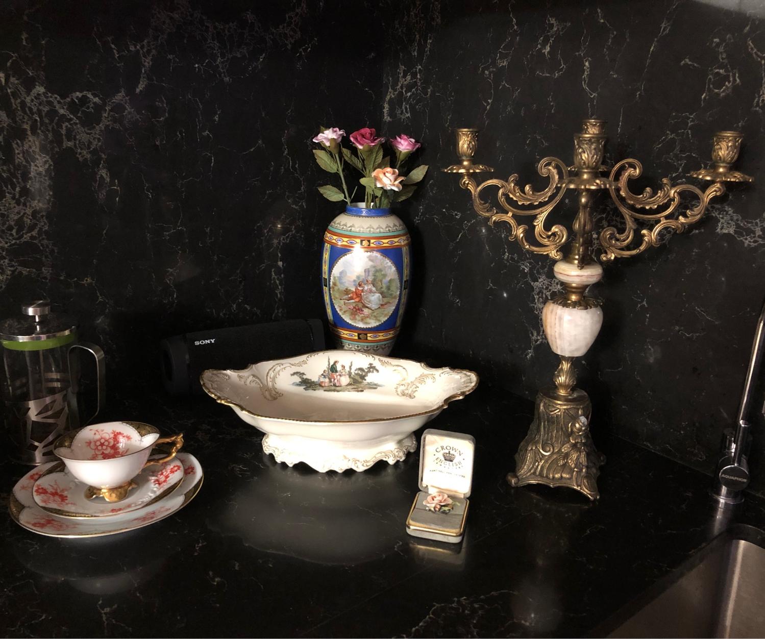 Photo №2 к отзыву покупателя Tetenchuk Anastasiya о товаре Винтаж: Старинный канделябр на 5 свечей. Франция.