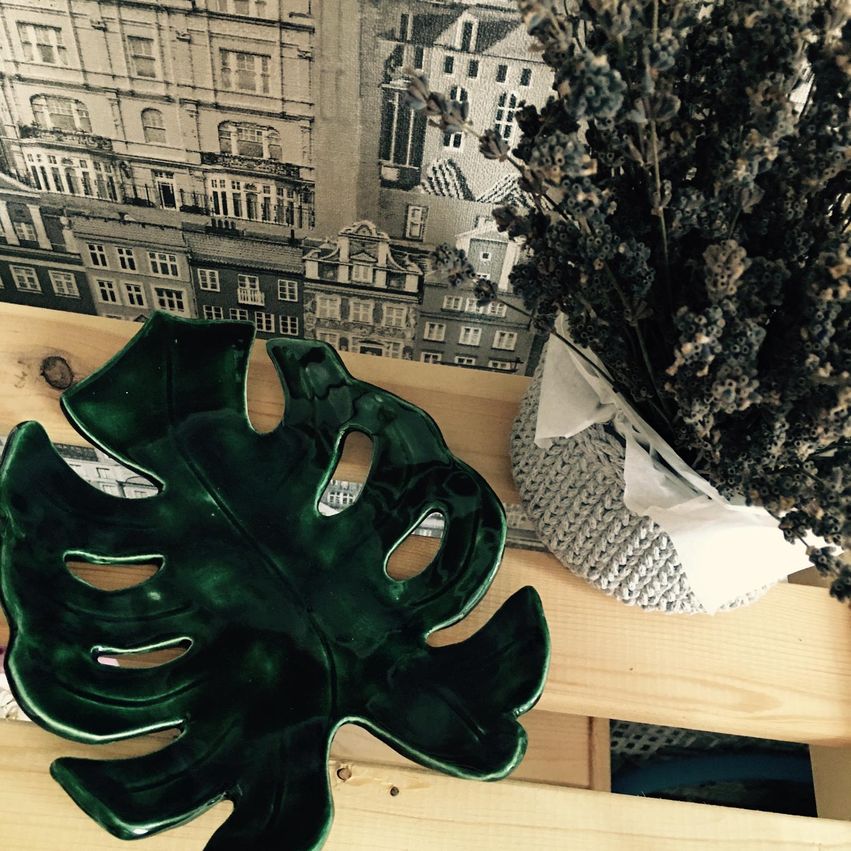 Photo №1 к отзыву покупателя Elena о товаре Монстера керамическая