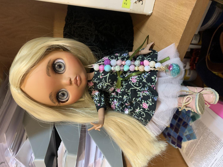 Фото №1 к отзыву покупателя Наталья о товаре Кукла Блайз кастом