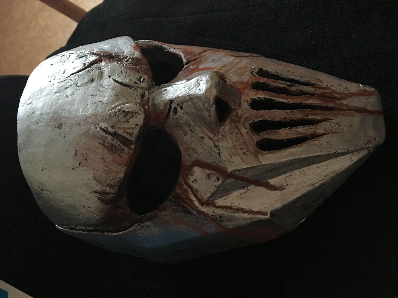 Photo №1 к отзыву покупателя Nik75575757 о товаре Маска Мика Томсона Слипкнот Slipknot Grey Chapter