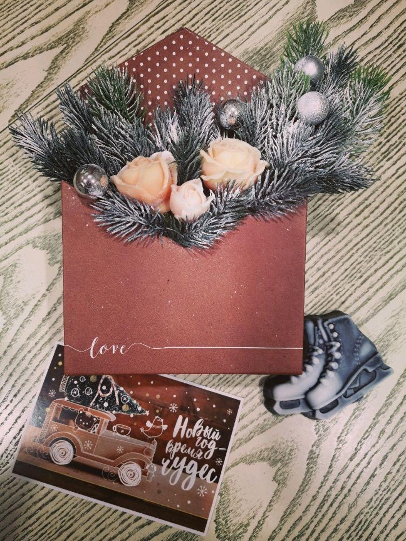 Photo №3 к отзыву покупателя * Elena * о товаре Цветы из мыла.