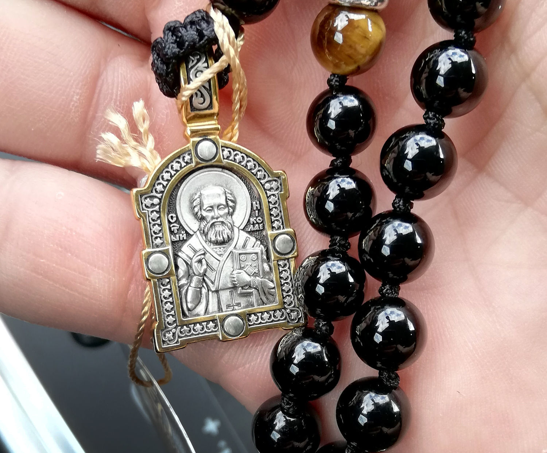 Фото №2 к отзыву покупателя Кирилл о товаре Икона святитель Николай Чудотворец