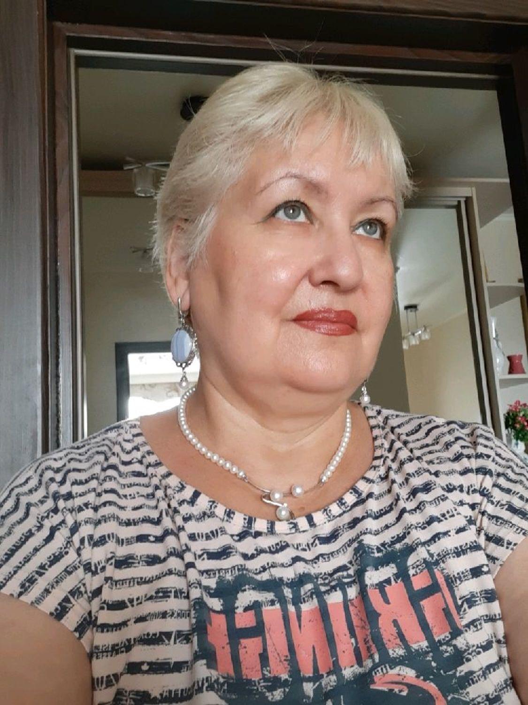 Фото №1 к отзыву покупателя Альфия Файзуллина о товаре Эффектные серьги с кружевным агатом в серебре 925