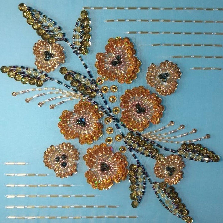 Фото №1 к отзыву покупателя Надежда о товаре Схема для вышивки: 0001