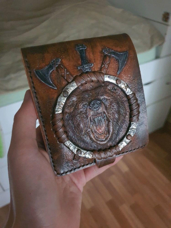 Фото №1 к отзыву покупателя Wiravens о товаре Портмоне (кошелек, бумажник) двойного сложения (Bi-fold wallet) № 43