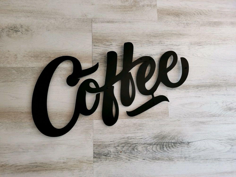 Фото №1 к отзыву покупателя Владислав Иванов о товаре Слово COFFEE украшение на стену