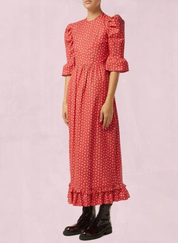Фото №1 к отзыву покупателя Lvp96 о товаре Красивое длинное платье