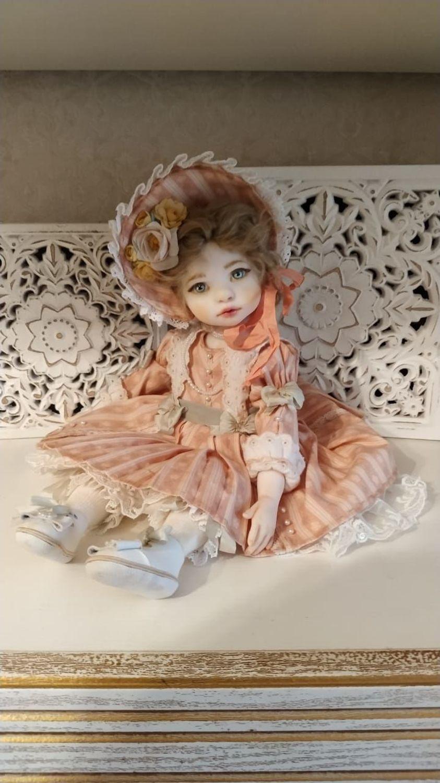 Фото №1 к отзыву покупателя Вячеслав Кузнецов о товаре Будуарная кукла:коллекционная кукла Любочка